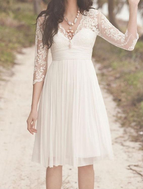 ... de mariée courte robe de mariée robe de soirée sur mesure taille