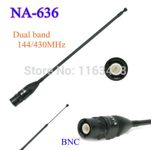 OEM 144/430 na/636 BNC walkie talkie ICOM ic/v8 ic/v80 ic/v80e ic/v82 ic/v85 NA-636 oem 144 430 na 626 sma walkie talkie baofeng 5r b6 px 888k tg uv2 uvd1p na 626