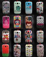 Owl Tribal Pattern Tpu Gel Soft Skin Case Cover For Samsung Galaxy Core i8262