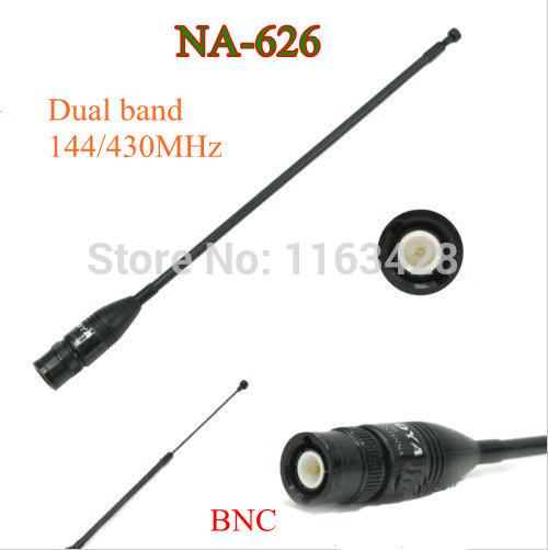 OEM 144/430 na/626 BNC walkie talkie ICOM ic/v8 ic/v80 ic/v80e ic/v82 ic/v85 NA-626 oem 144 430 na 626 sma walkie talkie baofeng 5r b6 px 888k tg uv2 uvd1p na 626