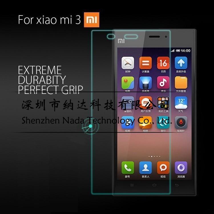 1pcs/lot для xiaomi 3 Премиум-взрывозащищенный закаленного