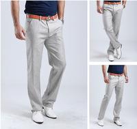 free shipping men's full pants , 2014 man solid mens pants corduroy , men pants fashion summer dress 50