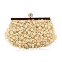 Free shipping Embroidery new arrival 2014 diamond beaded bag  clutch women's handbag