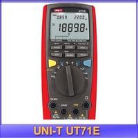 free shipping UNI-T UT71E Intelligent LCD Digital Multimeter DC/AC Volt Amp Ohm Hz Capacitance meter thermometer 39999 Max