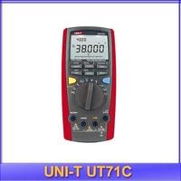 free shipping UNI-T UT-71C LCD IIntelligent Digital Multimeter USB to PC True RMS