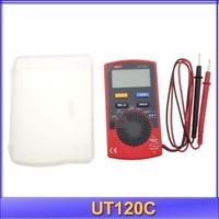 free shipping UNI-T LCD Mini Digital Multimeter Portable Voltmeter Tester Meter UT120C