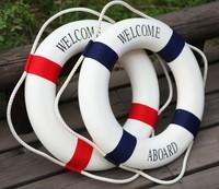 home decor photo props photo supply decoration Mediterranean style nautical decor Accessories swim ring crafts 35 cm * 35 cm