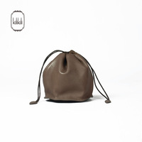 Kilikili bag shower sheepskin drawstring bag genuine leather mini handbag