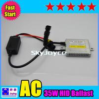 2PCS=1 pair/lot  fast start fast bright headlight igitor F3 35W hid ballasts for H1 H3 H7 H11 9005/HB3 9006/HB4 hid bulbs