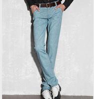 free shipping men's trousers , 2014 new fashion men capri pants , men's skinny pants 52