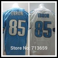 14 new Draft Detroit #85 Eric Ebron Men's Elite Jersey american football Jerseys,Embroidery Logos,Free Shipping,Accept Mix Order