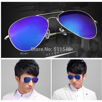 2014 fashion 3025 sunglasses star style colorful film glasses mercury reflective sunglasses large toad sunglasses free shipping