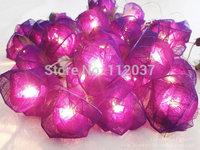 Hot LED Illumination Romantic Luminary Light Chandeliers Luminaria Decoration Lamps Luminous Rose Pendant String Lights Lighting