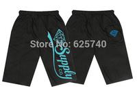 Diamond supplply sweats shorts men free shipping new 2014 summer men hip hop Rock Cropped Trousers drop shipping
