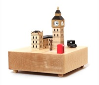 European city style music box creative musical box gifts for girlfriend sweet musica gifts