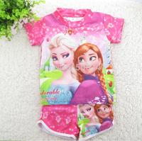 Frozen Swimsuit Ana Elsa Queenswimwear Beach Wear Swimming Wear Kids Bathing Suit Two-Piece Swimsuit Frozen Surf Clothing 20pcs