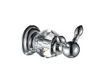 Bathroom luxury crystal copper single hook all coat hook the hook clasps unit clasps bath ball European style