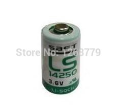Сухая электрическая батарея Saft Saft LS14250 3.6V PLC