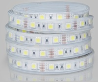 5M Warmwhite 5050 SMD LED IP67 Waterproof Flexible Strip Light 12V 300 LEDs New