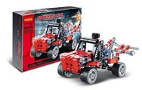 Decool Building Blocks Rescue Car Construction Sets Educational Jigsaw Bricks Toys for Children Compatible Bricks