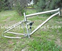 Gr.9 Titanium Full Suspension Frame