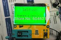 Free Shipping New 1Pcs Mega328 Transistor Tester Diode Triode Capacitance ESR Meter MOS/PNP/NPN L/C/R
