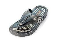 New 2014 Summer Brand Men Casual Flat Sandals,Bakham Leisure Flip Flops,EVA Massage Beach Slipper Shoes For Men