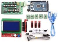 3D Printer Mega 2560 & RepRap RAMPS 1.4 & A4988 Driver &endstop +LCD 12864 -B
