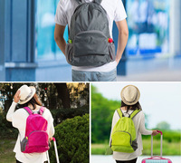 super light Folding outdoor travel backpack sports camping mountaineering bag Waterproof Cycling Bicycle Bike Shoulder Backpack