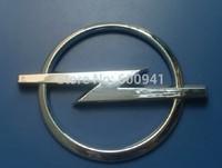 1 PCS Car Steering Wheel ABS-PLASTIC CHROME 3D BADGE EMBLEM Sticker For Opel 70mm