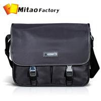 MONTHAUS 100% Natural Genuine Men Bag Shoulder Totes Nylon Leather Men Travel Bags Men 's Bags Handbags New 2014 Free Ship