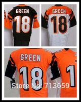 Cincinnati #18 AJ Green Elite jersey American Football Jerseys Sports Jersey,Embroidery Logos,Free Shipping,Accept Mix Order