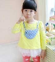 New Baby Kids Children's Lovely Dress,Girls Children Veil Tutu Dresses Retail CZ-6033