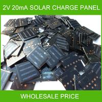10x 2V 20MA 55*55mm or  54*54mm Polycrystalline Silicon Solar Cell Panel Board For School Study Reseach Experimental Test DIY