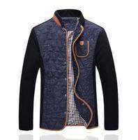 Free shipping 2014 spring, Autumn, Men's winter the thin darin-collar jacket,fashion brand leisure coats jackets men