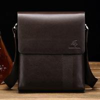 Time-brand casual 100%genuine leather shoulder bag for men,promotional mens leather bag,vintage messenger bag free shipping BG06