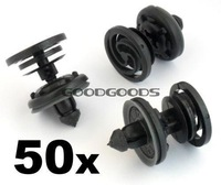 In Stock New 50x for VW Volkswagen Interior Door Card & Trim Panel Mounting / Fastener Clips Free Shipping