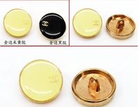 Metal buttons  Luxury shirt  overcoat luxury button 2cm  sewing buttons garment accessories 20pcs/lot 2colors mix