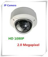 New arrival hot CCTV Vandalproof HD 1080P IP Camera 2.0 Megapixel Network IP Camera