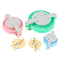 1Box 4 Sizes Essential Pom Pom Maker Fluff Ball Weaver Needle Craft Tool Mixed