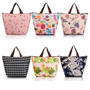 Flower Oxford Picnic Thermal Bag Neoprene Lunch Bag Food Cooler Bags Thermal Женщины ...