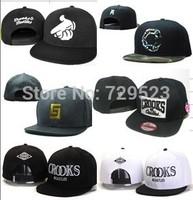 2014 New Style Free Shipping Crooks and Castles Snapback Hats Hip-pop Caps, Big C Baseball Hats