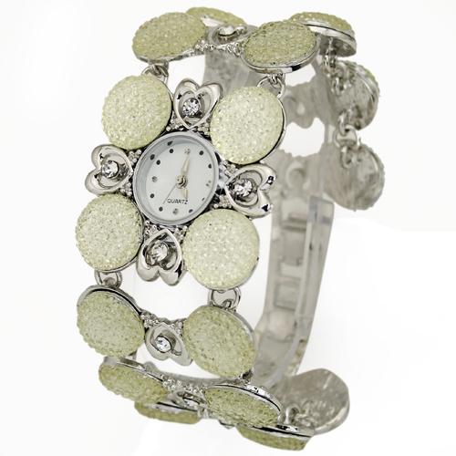 New 2014 Fashion Design Women s Lady Girls Students Jewelry Crystal Bracelet Quartz Wrist Watches Hours