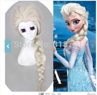 Elsa Wig Fronzen Wigs Snow Queen Elsa cosplay Free Shipping