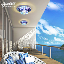 2014 Sale Freeshipping Stainless Steel New Arrival Led Crystal Aisle Lights Hallway Entrance Corridor Ceiling Light Lighting(China (Mainland))