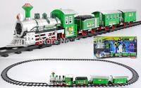 Wholesale mini train with track plastic train tracks electric amusement track train