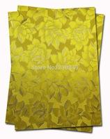 High quality low price african sego headtie,sege gele ITT624 YELLOW