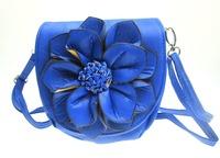 Free shipping Women Handbag Flower Cross Body Purse Bag size 17*17cm