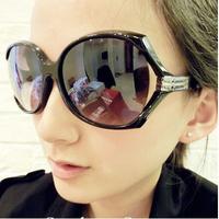 big box female sunglasses fashion sunglasses summer sunscreen face-lift glasses