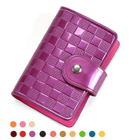 2014 New Regeneration leather bank cards holder fashion credit cards holder men business card holder women wallet JIMEI-00803